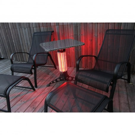 Utgående produkter   Cafébord med 360 graders värme -1000W