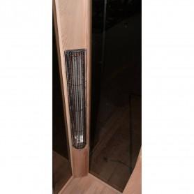 Utgående produkter   Bastu SunHeat   Bastu yttermått.Längd : 900 mmHöjd : 1980 mmDjup : 900 mm