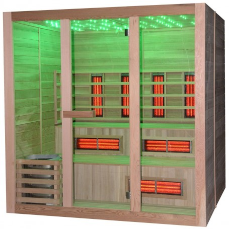 Utgående produkter   Multibastu 5-6 personer   Bastu yttermått:Längd: 1990 mmHöjd : 2000 mmDjup : 1790 mmLeveranstid:2-3 dagar