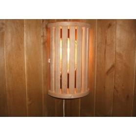 Skärmar   Lampskärm i Al, 7 ribbor hörnmodell