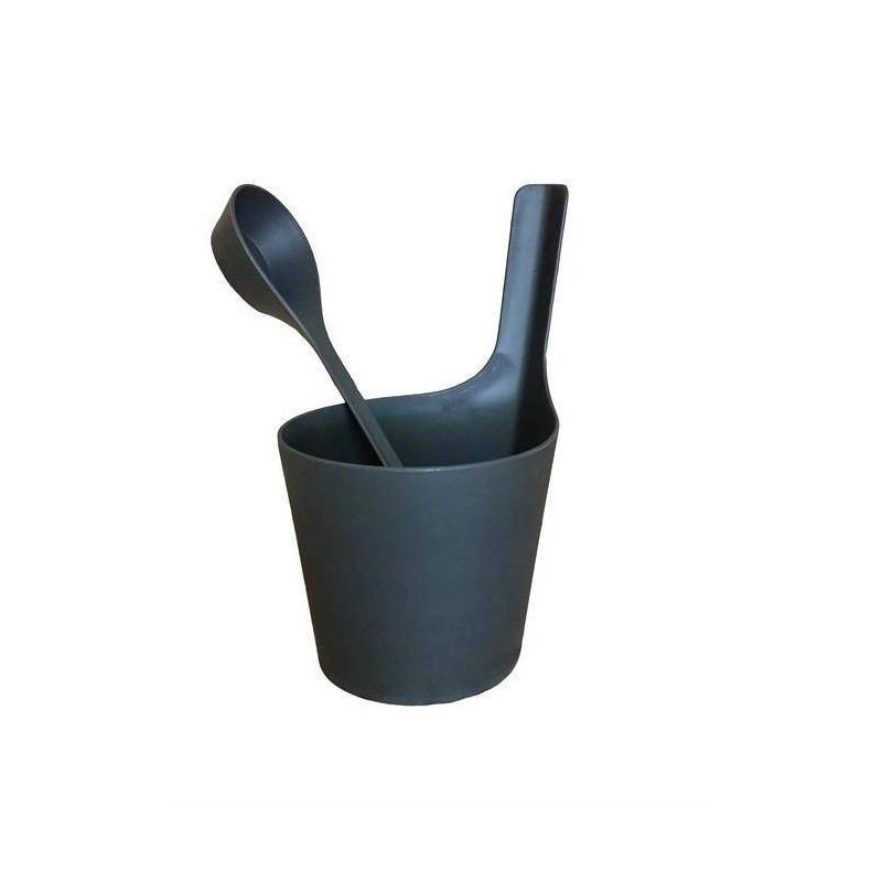 Stävor och skopor   Rento bastustäva och skopa av biokomposit