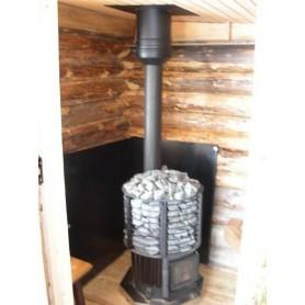 Övriga bastutillbehör   Väggskyddsplåt Svart 800x1000 (1 st)