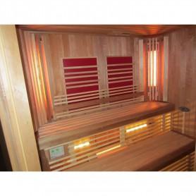 IR- Vitae Fullspectrum   IR Fullspektrum Thermolight 500 W   Placering:Hörn, GolvFärg: Grå, Röd eller Svart
