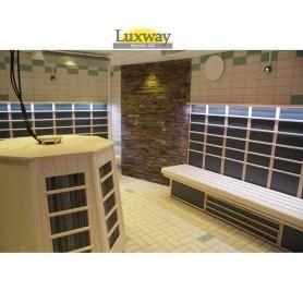 Infraröda panelsatser IR bastu för offentligt bruk. 40 M3