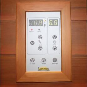 Utgående produkter   Bastu Apollon Turmalin 4 personer   Bastu yttermått:Längd: 1800 mm exkl. taklistHöjd : 1900 mmDjup : 1200