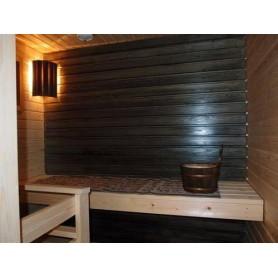 Bastuolja | Bastuvax   Svart bastuskydd för paneler 0,9l