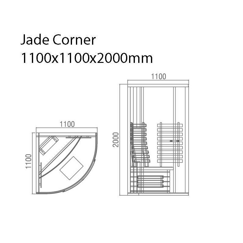Utgående produkter Bastu Jade Corner Butiks exemplar