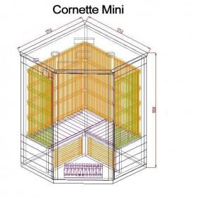 Utgående produkter   Bastu Cornett Mini Ceder   Yttermått:Längd: 1250 mmHöjd : 1900 mmBredd : 1250 mmLeveranstid:2-3 dagar(Fin