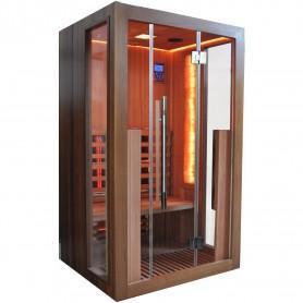 Infraröd bastu för 2 personer Salty Sauna 21995 Yttermått:Längd: 1200 mmHöjd : 2000 mmDjup : 1000 mmLeveranstid:2-3 dagar(F