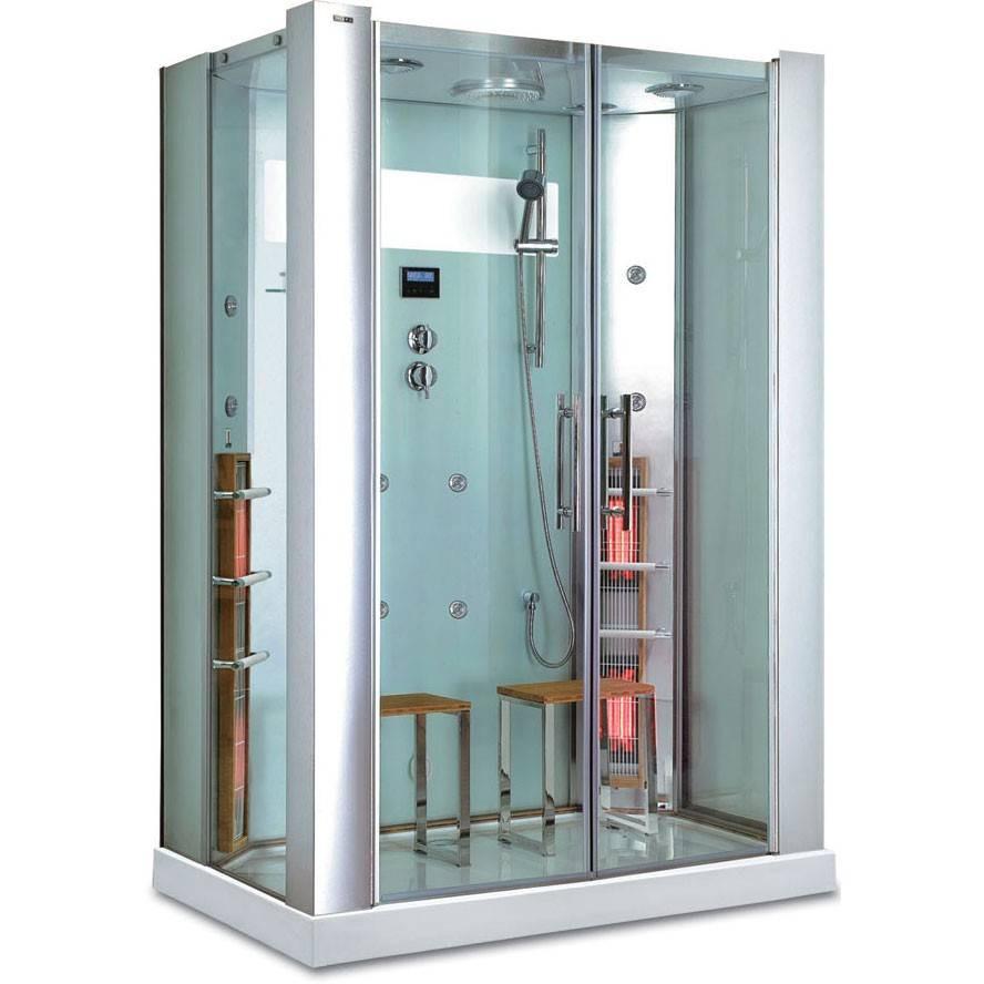 Här finner ni ett brett urval av duschkabiner, se mer om infradusch