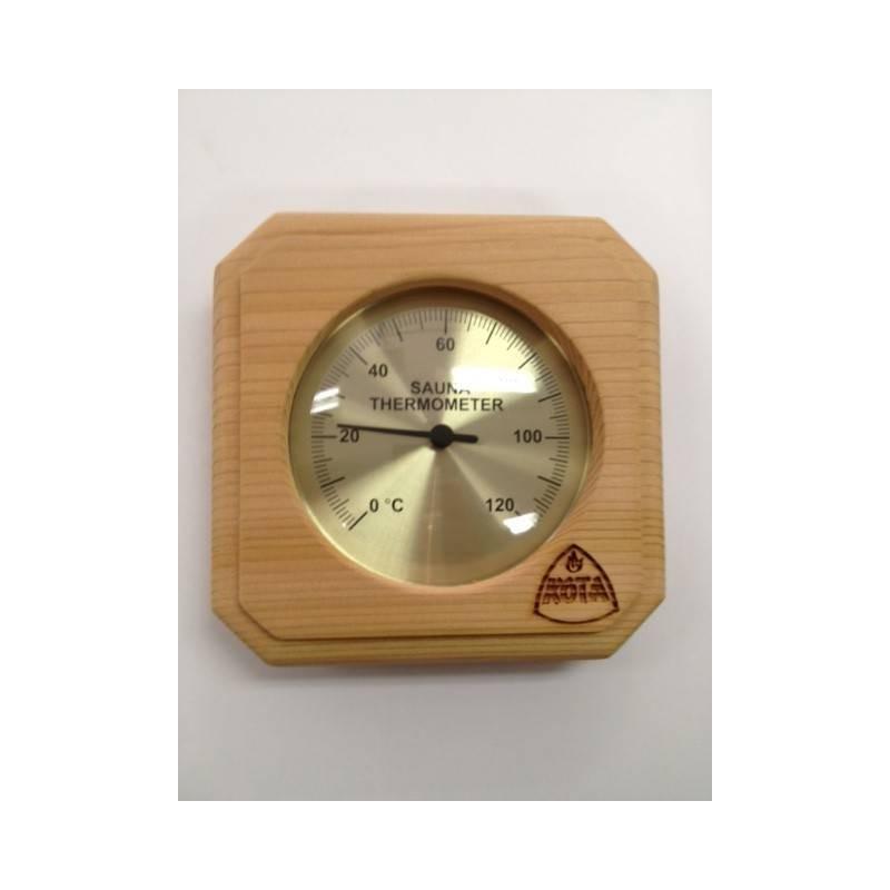 Termo och hygrometer   Kota Bastutermometer fyrkant Ceder - 220 TD