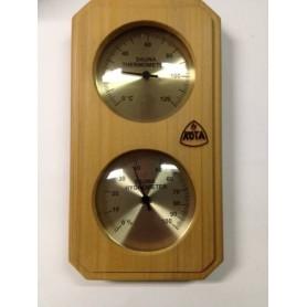 Termo och hygrometer Kota Termometer/Hygrometer Ceder- 221THVD,Vertikal
