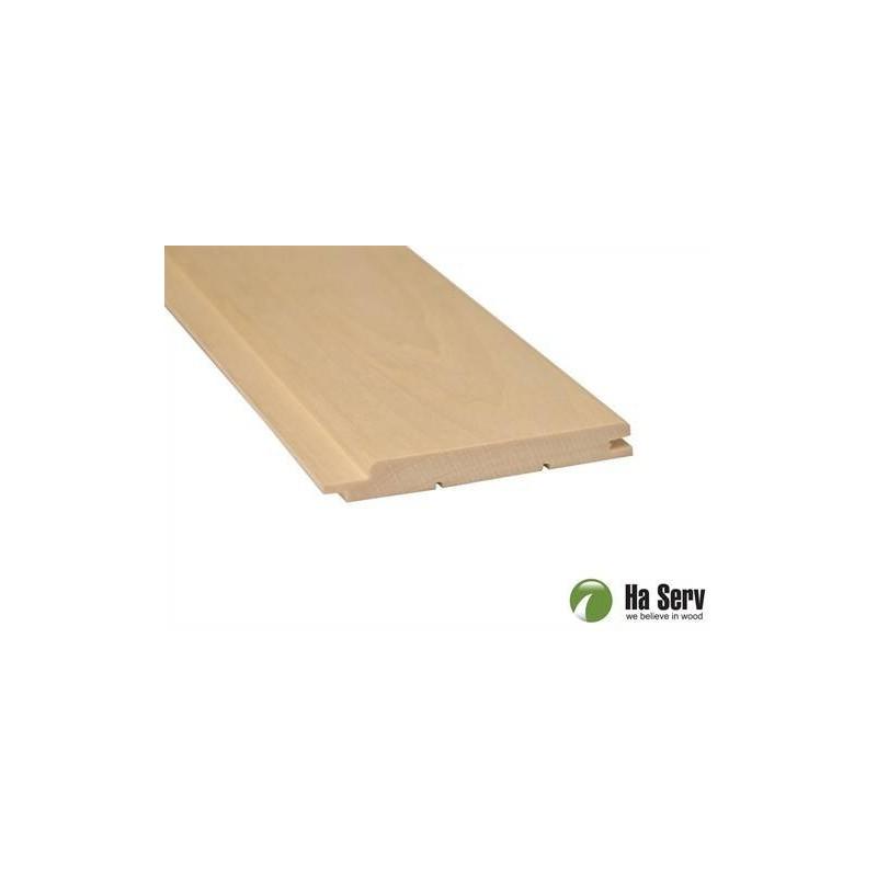 Bastupanel ASP 15x125   Bastupanel i asp. 15x125mm Längd: 2,4 m. 6st/pkt   Längd: 2,4 m. 6st/pkt
