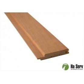 Värmebehandlad ASP 15x90   Bastupanel i värmebehandlad asp. 15x90mm Längd: 3,0 m. 6st/pkt   Längd: 3,0 m. 6st/pkt