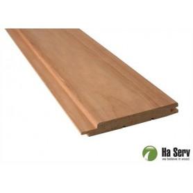 Värmebehandlad ASP 15x125   Bastupanel i värmebehandlad asp. 15x125mm Längd: 3 m. 6st/pkt   Längd: 3 m. 6st/pktSlutsåld, Ber