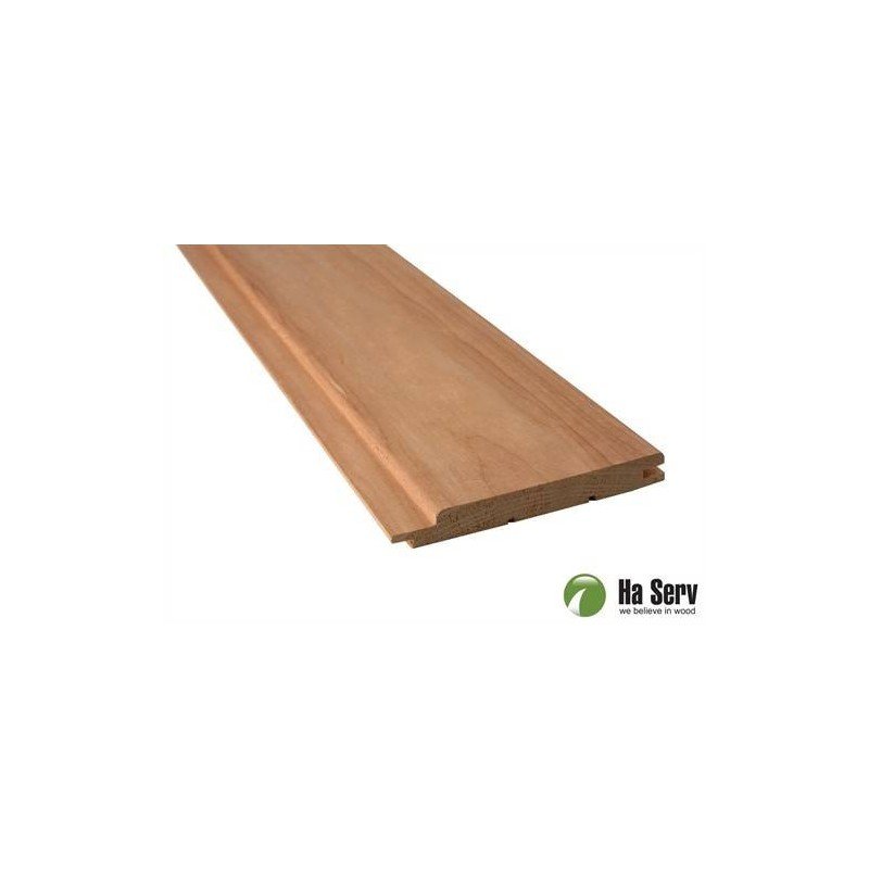 Värmebehandlad ASP 15x125 Bastupanel i värmebehandlad asp. 15x125mm Längd: 2,4 m. 6st/pkt Längd: 2,4 m. 6st/pktSlutsåld,