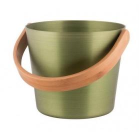 Stävor och skopor Rento bastuhink aluminium. Björkgrön