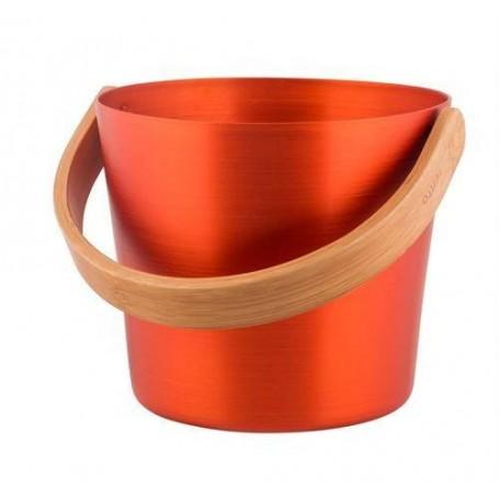 Stävor och skopor   Rento bastuhink aluminium. Orange