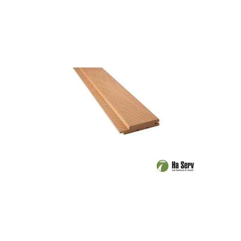 Bastupanel AL 15x90   Bastupanel i al. 15x90mm Längd: 2,1 m. 6st/pkt   Längd: 2,1 m. 6st/pkt