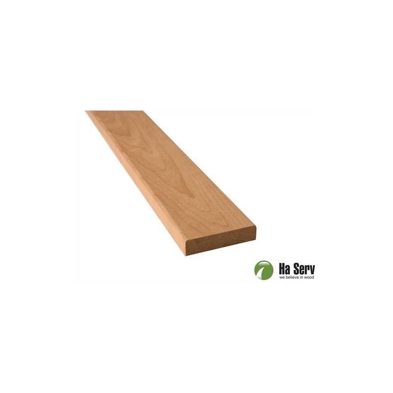 Trälister för bastu   14x60 Foder i värmebehandlad asp. Längd: 2,4 m