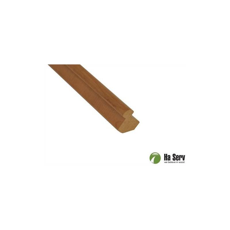 Trälister för bastu 25x25 Innerhörnlist i värmebehandlad asp. 2,4 m 74 1