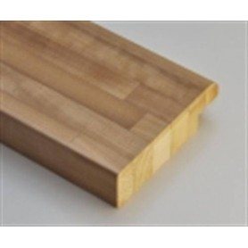 Värmebehandlad ASP 28x45 Bastulav framkant värmebehandlad asp 40x140mm Längd: 2,4 m