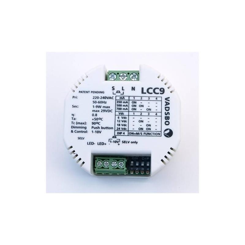 Transformator och tillbehör Drivdon & Dimmer LED Bastulist 12V 9w LCC9 1240 1