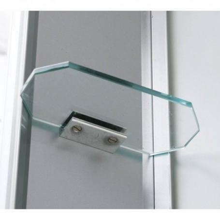 Duschkabin Infraröd   InfraDusch Aqua Silver - Singel   Yttermått.Längd : 1000mmHöjd : 2150mmDjup: 900mmSlutsåld!.Produkte