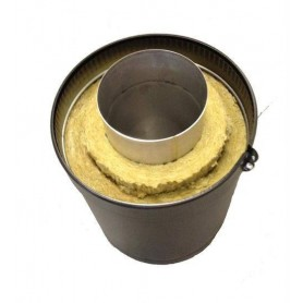 Skorstenar och rökrör till bastuugnar   Kota skorstenslängd 600 mm, Kota