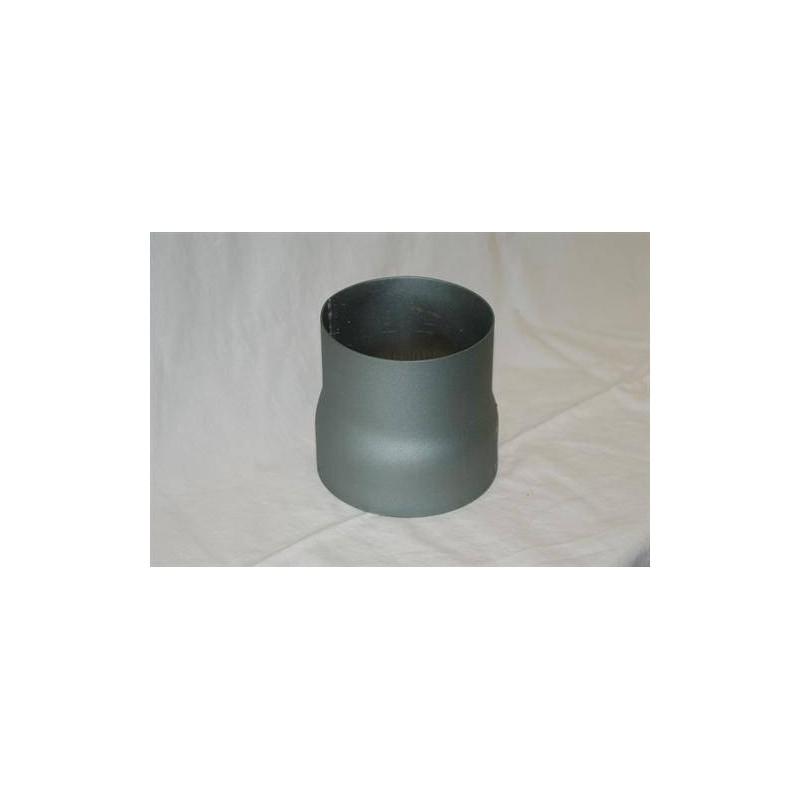 Skorstenstillbehör till bastuugnar Narvi Rökrör övergång (reducering) 119/110 mm 359 1