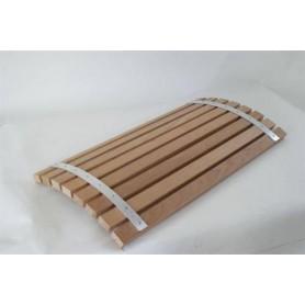 Ryggstöd, armstöd och raster   Ryggstöd för hörn värmebehandlad asp 85 cm