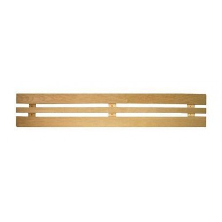 Ryggstöd, armstöd och raster   Ryggstöd standard asp 1550 mm