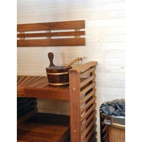 Ryggstöd, armstöd och raster   Ryggstöd standard värmebehandlad asp 1550 mm