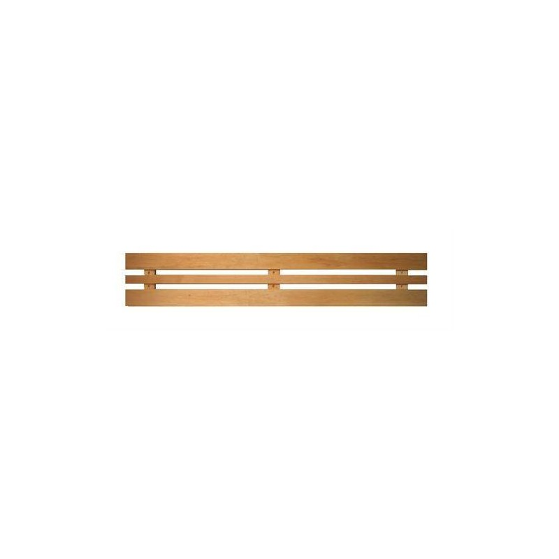 Ryggstöd, armstöd och raster Ryggstöd standard al 1550 mm