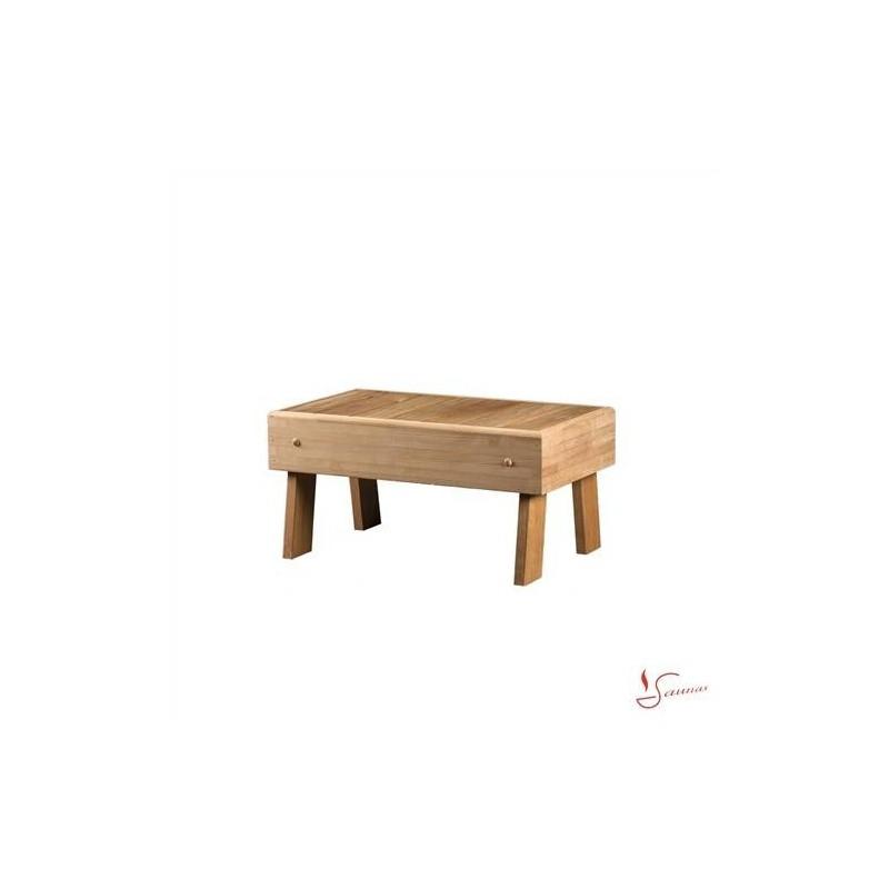 Bastustol och pall Pall i Värmebahandlad Asp 700x400 1189 1
