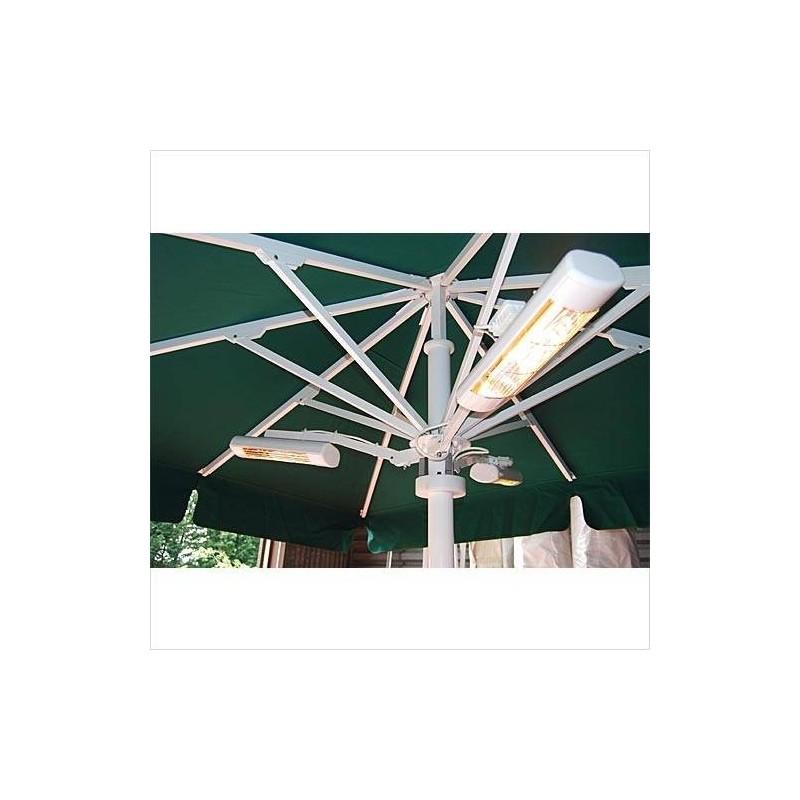 Terrassvärmare Heatlight Parasoll arm Vit 845 1