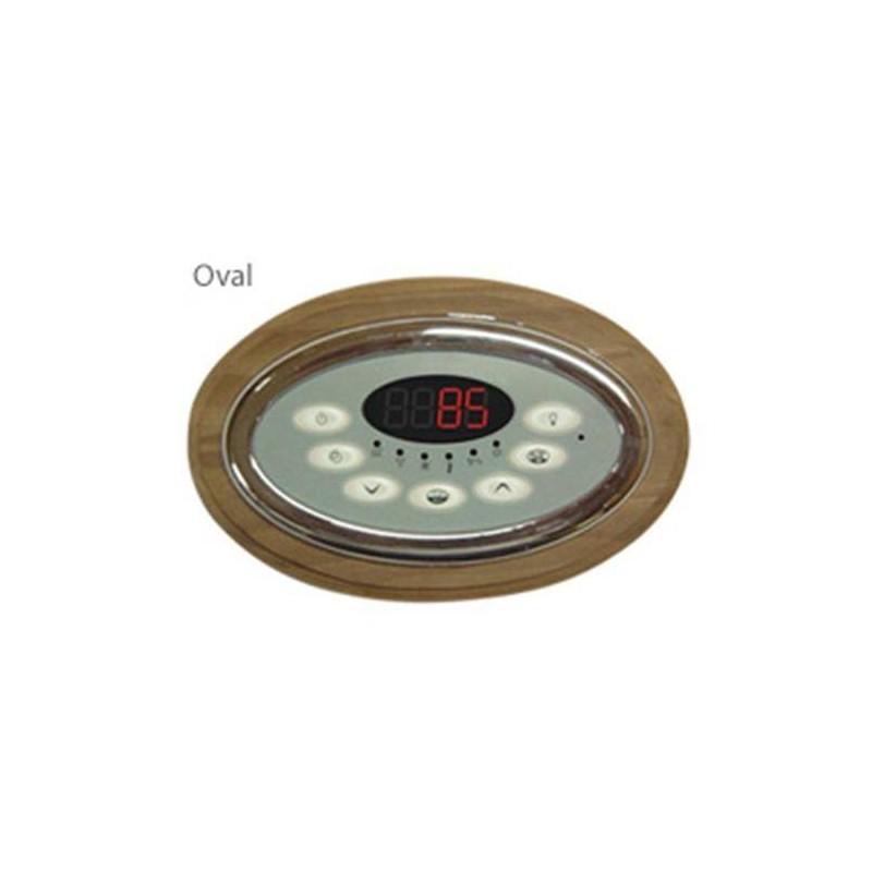 Tillbehör för el-bastuaggregat Dekorram till Innova styrenhet, värmebehandlad asp 108 1