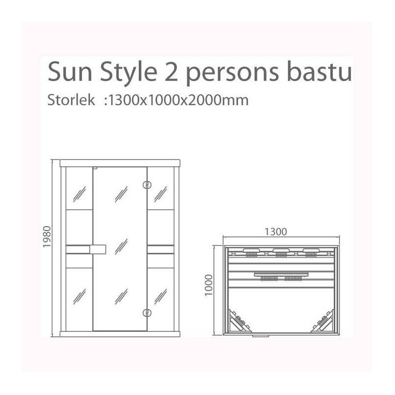 """Utgående produkter   Infraröd bastu Sun Style"""""""""""