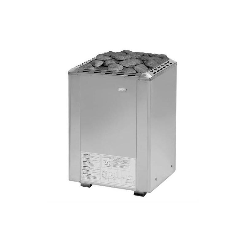 Bastuaggregat Narvi   Bastuaggregat Narvi Ultra 10.5 kW Rostfritt   För bastustorlek 9 - 15 m3