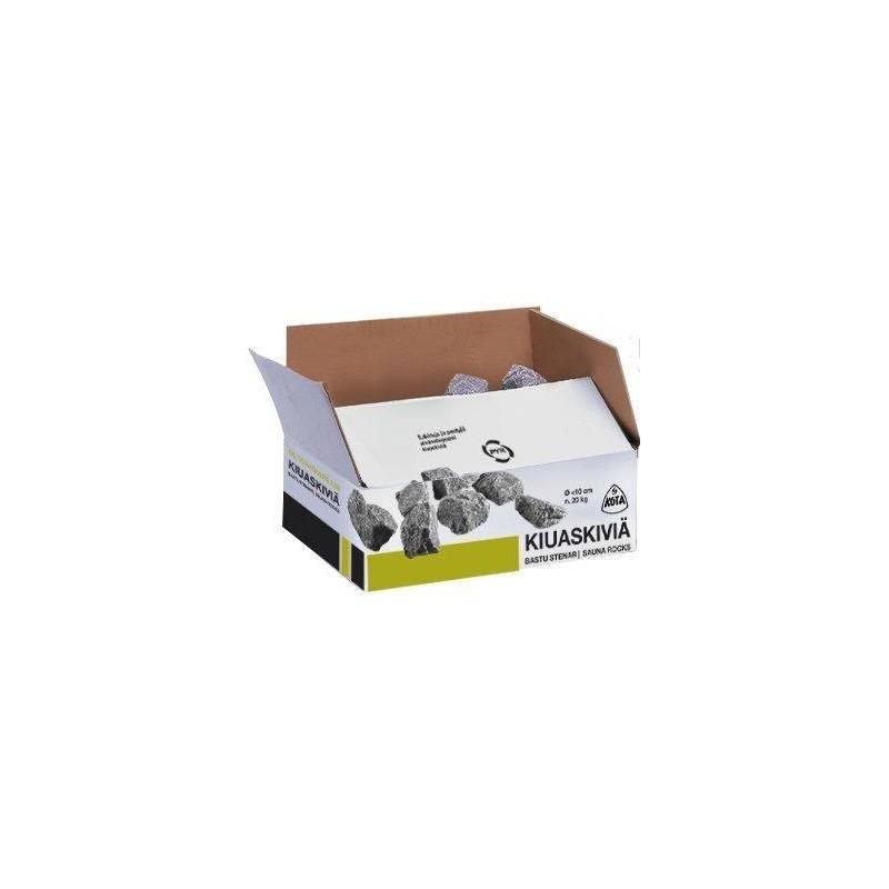 Tillbehör ved eldat bastuaggregat Bastusten Narvi, olivindiabas, 5-10 cm, 20 kg