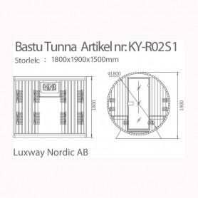 Utgående produkter   Bastu-Tunna Infraröd & Traditionell
