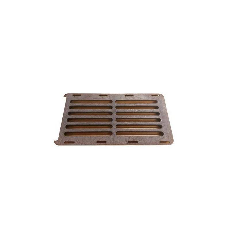 Tillbehör ved eldat bastuaggregat Roster till Narvi NC 16-24. 200x400 mm