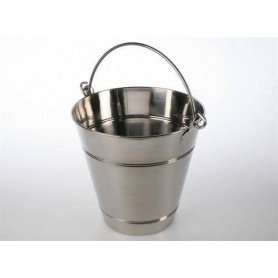Tillbehör ved eldat bastuaggregat Ved/Bastuhink 12 Liter, Rostfri