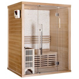 Helbild Bastu Traditionell, Rocky Sauna 3 Personer