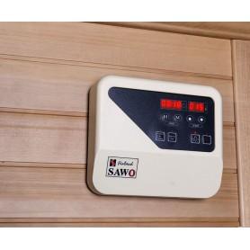 Kontrollpanel Bastu Traditionell, Rocky Sauna 3 Personer