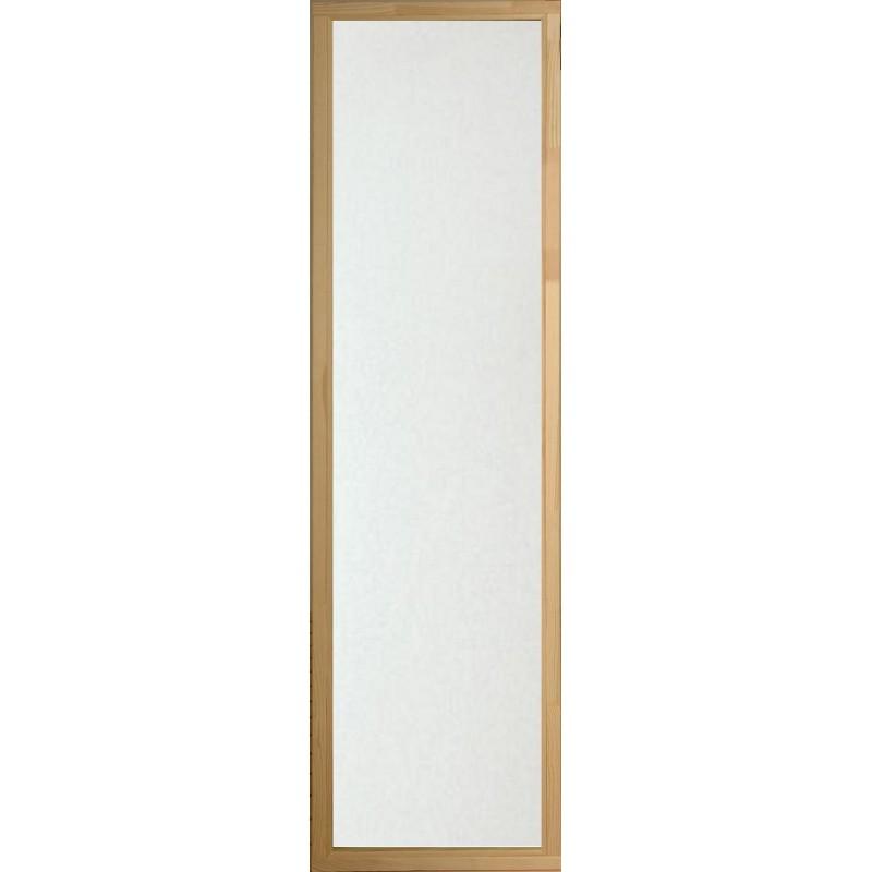 Bastufönster 5x19 Klart glas, Alkarm