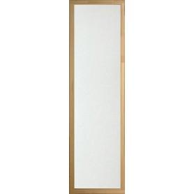 Bastufönster storlek 5x19   Bastufönster 5x19 Klart glas, Aspkarm
