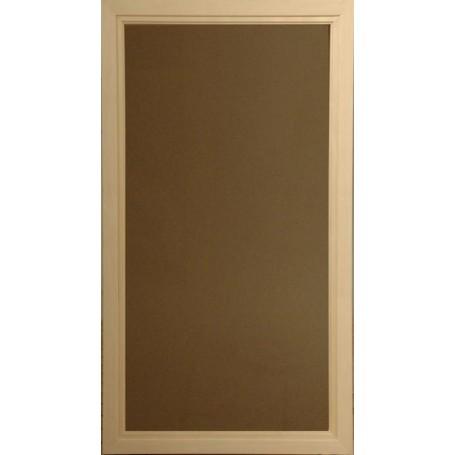 Bastufönster storlek 5x9   Bastufönster 5x9 Bronsfärgat Glas med furu-karm