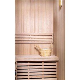 Bastu Traditionell   Classic för 3 personer   Traditionell bastuför 3 personer.Storlek:1530x1100x1900 mmTräslag:Hemlock