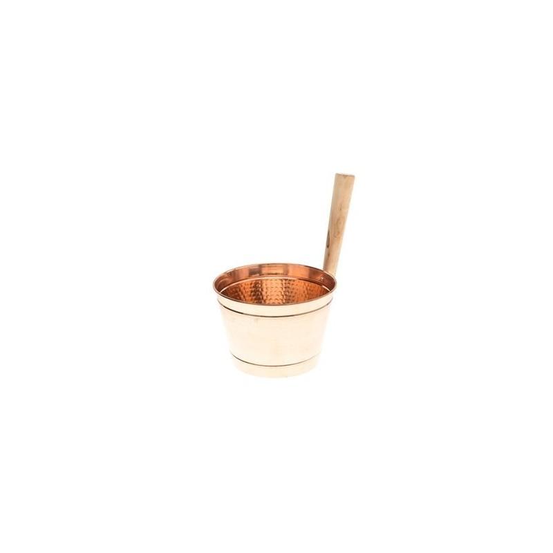 Stävor och skopor Bastustäva koppar 4 liter